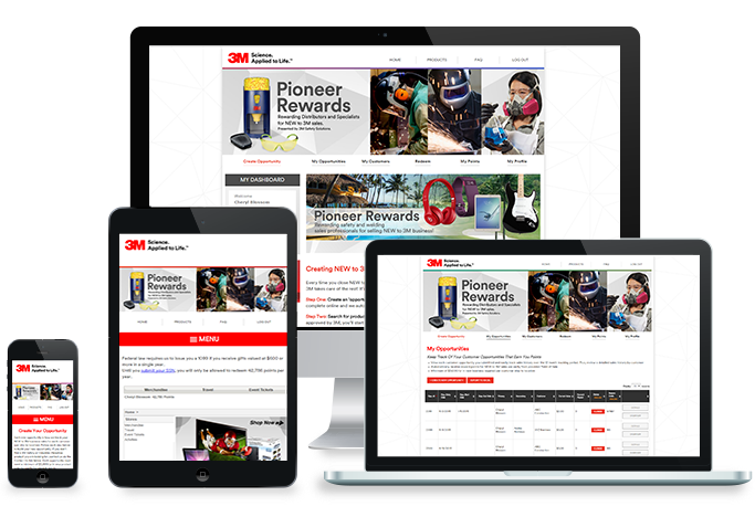 E Group, Inc  – Solutions | 3M Pioneer Rewards